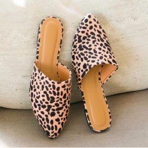 Leopard Print Slip Ons, Leopard Print Mules